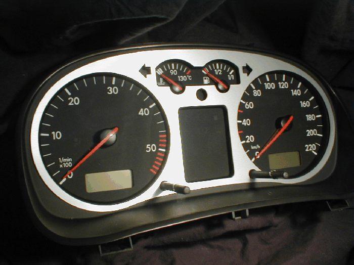 Blende Tachoblende Tacho VW Corrado VR6 G60 16V